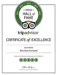 2015 hall of fame trip advisor certificate of excellence