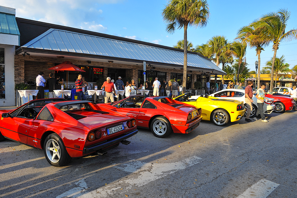 Ferraris come to town
