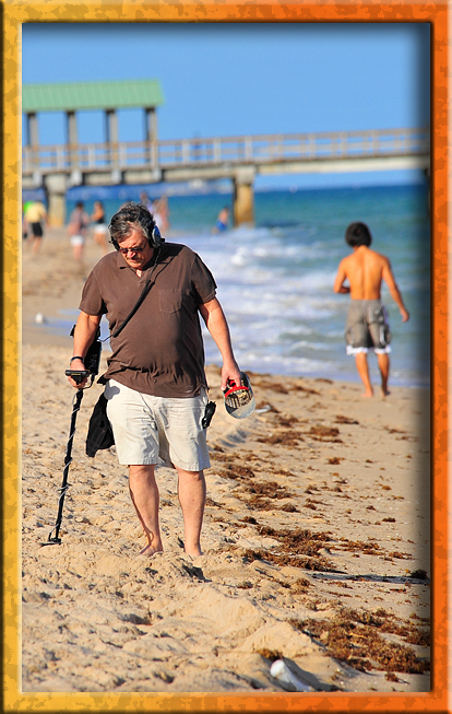 Beach raker