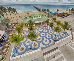 Ocean Plaza beach shot