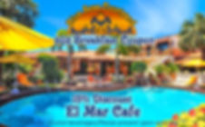 blue seas couryard b&b breakfast coupon 15% discount el mar cafe. *excludes alcohol beveages/pleas prsent upon ordering