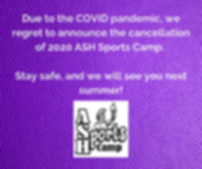 Due to the COVID pandemic, we regret to