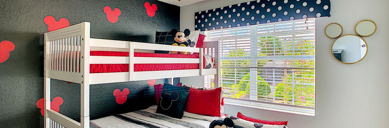 Florida Emerald ONE - Mickey Bunk Room