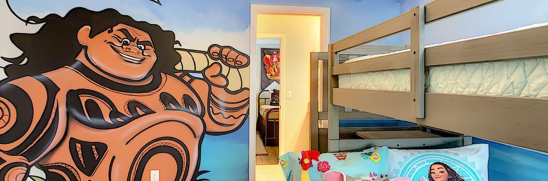 Coastal Vibes - Moana Bunk Bedroom