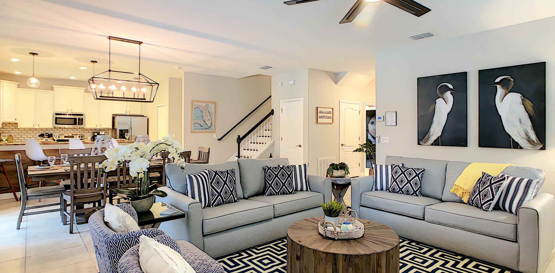 Coastal Vibes - Family Room