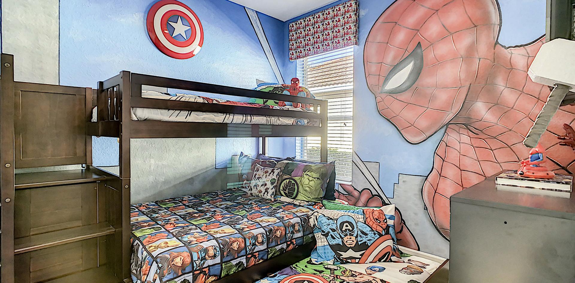 Millennium Outpost - Avengers Bedroom