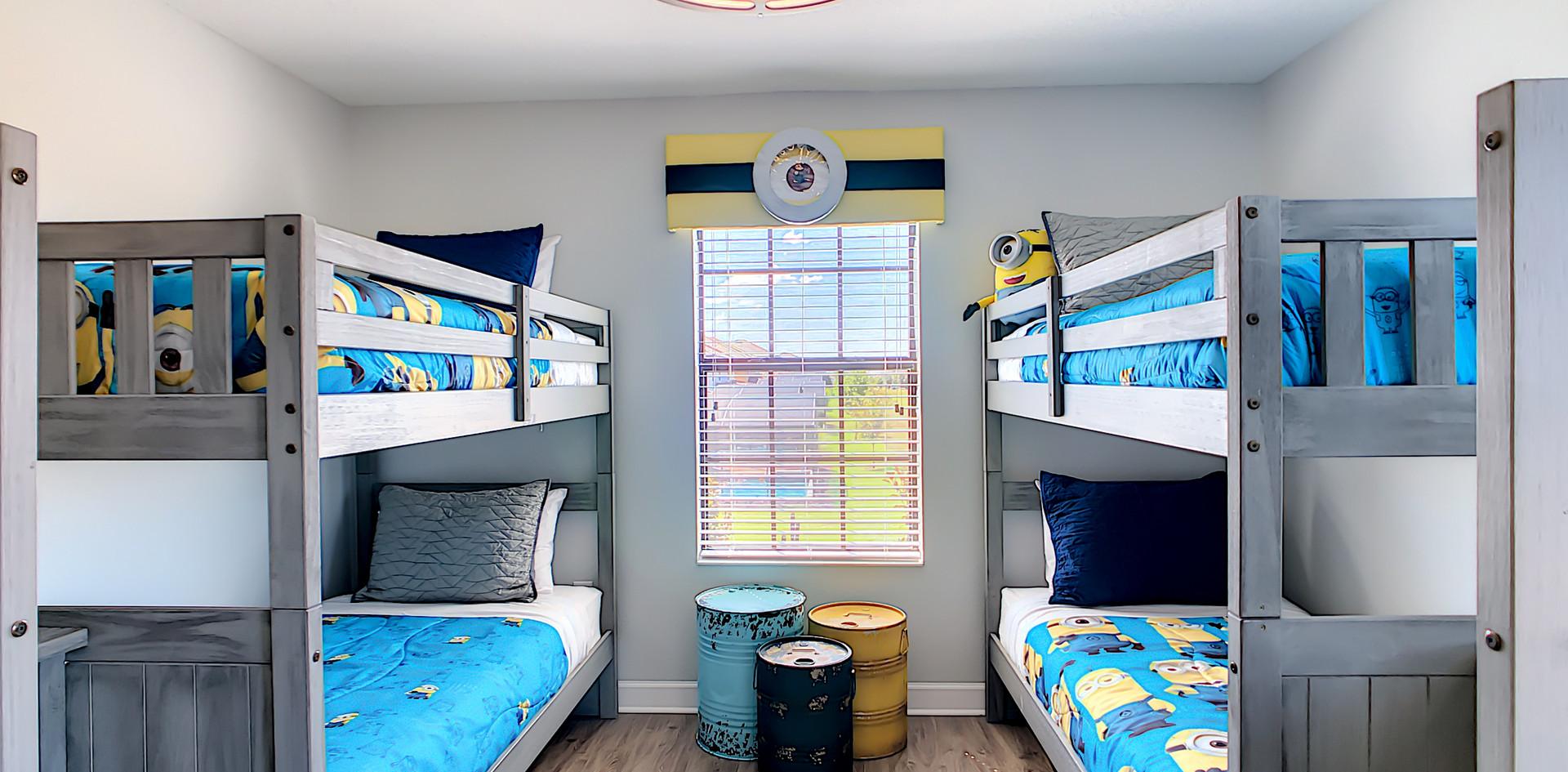 Paradise Manor ONE - Minion Bunk Room