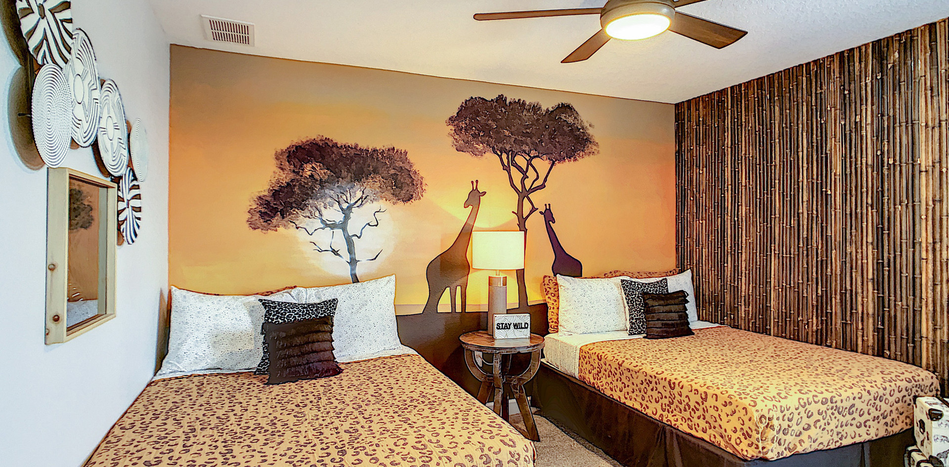 Destination Starship - Jungle Bedroom