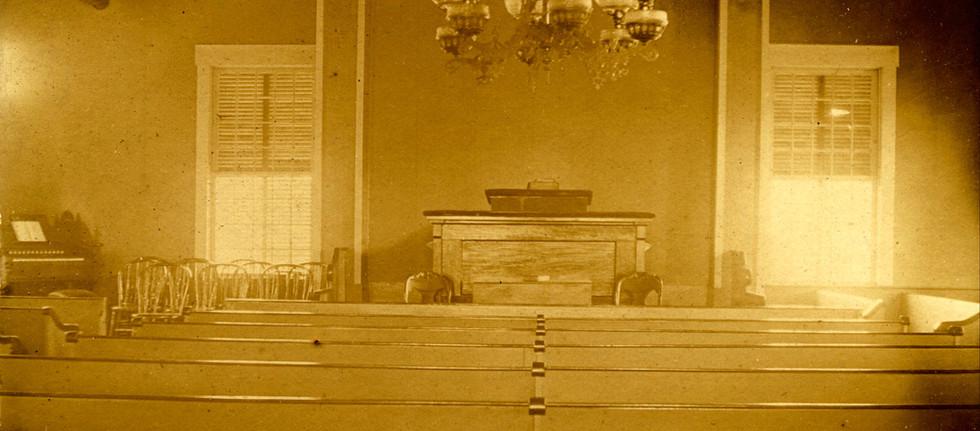 Church Interior c.1895