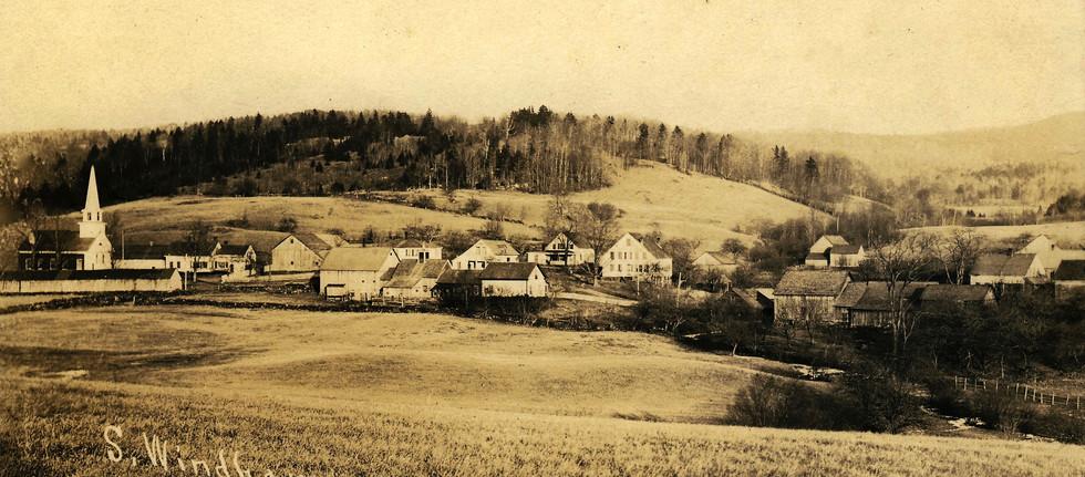 Village view c. 1910