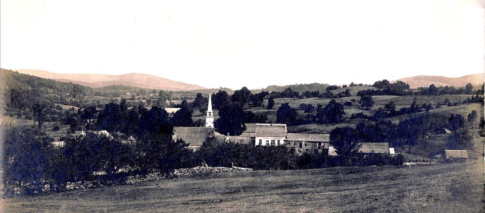 Village looking North c.1910