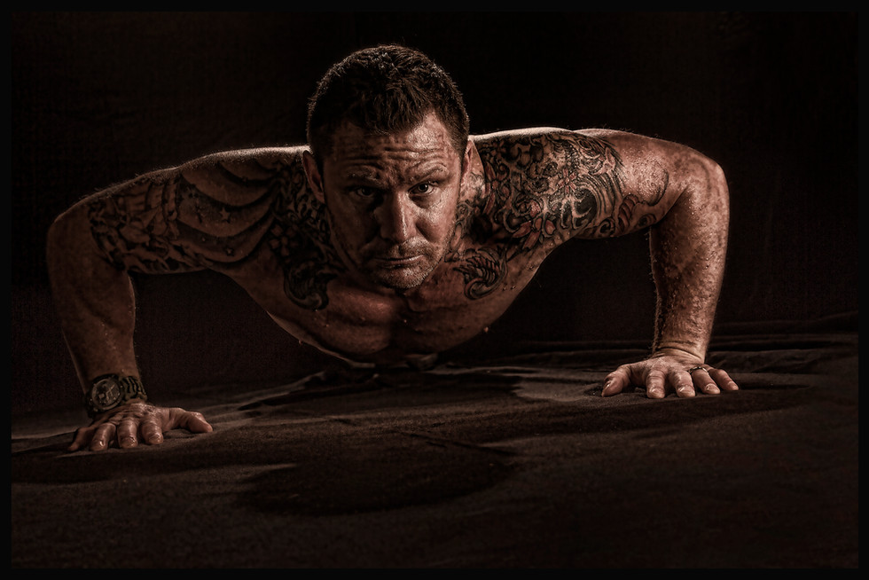 Navy Seal workout in studio