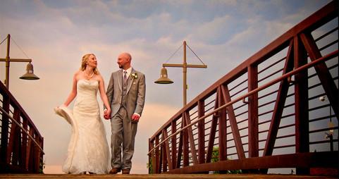 Matt & Faye Married, Bridge Photo