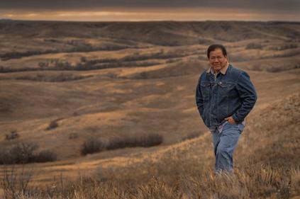 Ron Brownotter prairie portrait