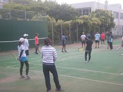 技術研修会2019オンコート2 撮影:明石市テニス協会