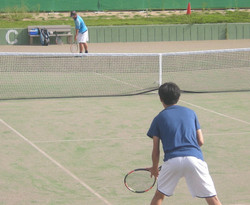 2018個人戦5_撮影:明石市テニス協会