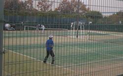 2018明石マスターズシングルス2 撮影:明石市テニス協会