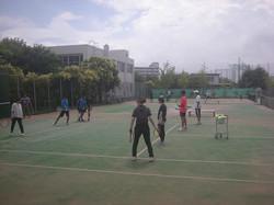 技術研修会2019オンコート1撮影:明石市テニス協会