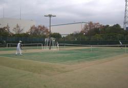 2018明石マスターズシングルス5 撮影:明石市テニス協会