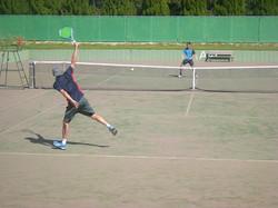 2018個人戦3_撮影:明石市テニス協会