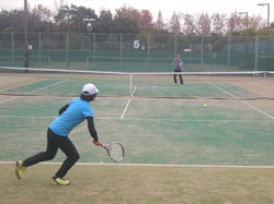 2018明石マスターズシングルス4 撮影:明石市テニス協会