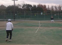 2018明石マスターズシングルス7 撮影:明石市テニス協会