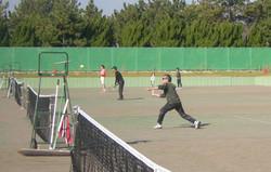 2018明石マスターズダブルス2 撮影:明石市テニス協会