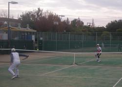 2018明石マスターズシングルス6 撮影:明石市テニス協会