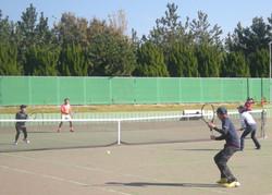 2018明石マスターズダブルス3 撮影:明石市テニス協会
