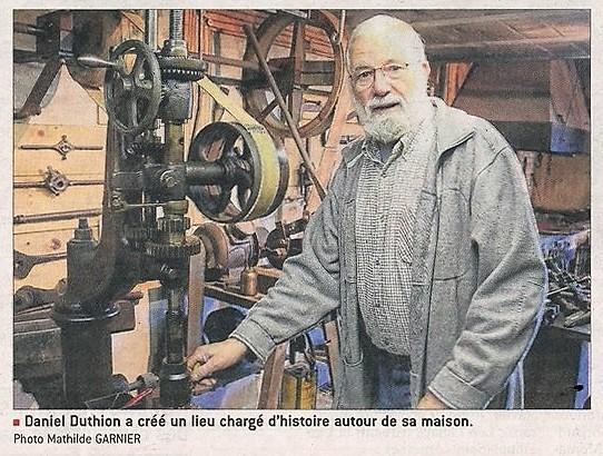 Daniel Duthion passionné par les moulins, remonte le temps lire la suite....
