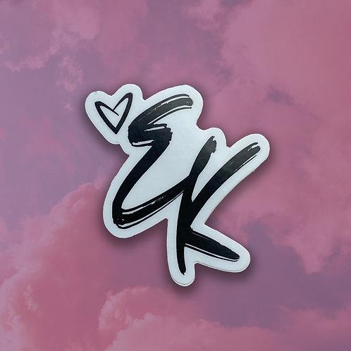 LOVE, EK STICKER