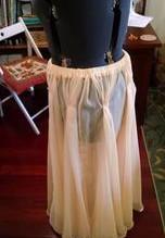 Shortening a Skirt with a Big Hem