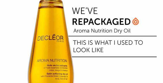 AROMA NUTRITION - SATIN SOFTENING DRY OIL