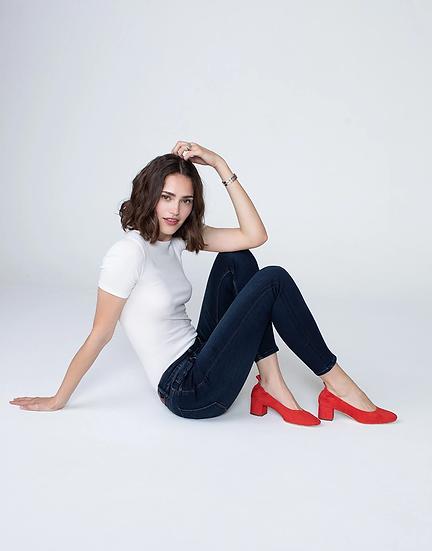 Kora Mid-Rise Skinny Jeans