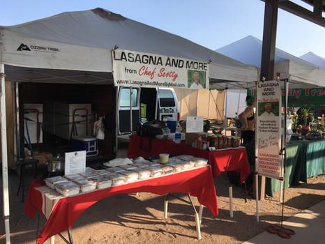 Lasagna and More at Rillito Market