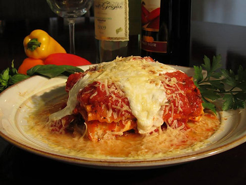 Two Meat Lasagna