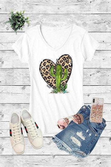 Saguaro Heart Tee