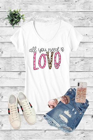 """All you Need is Love"" Tee"