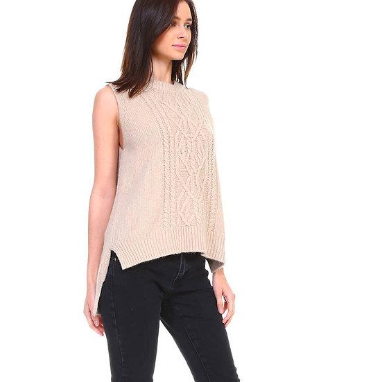 Heather Cashmere Vest