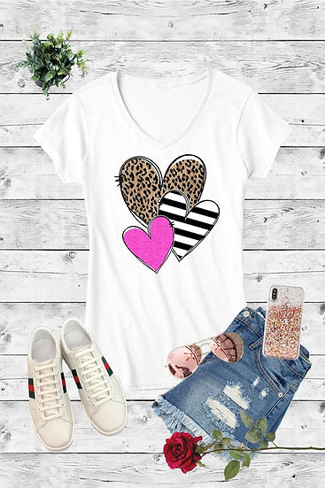 Whimsy Heart Tee