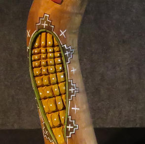 "006	Navajo carving	""Corn Doll"", 9.5 ""	H. Bert"