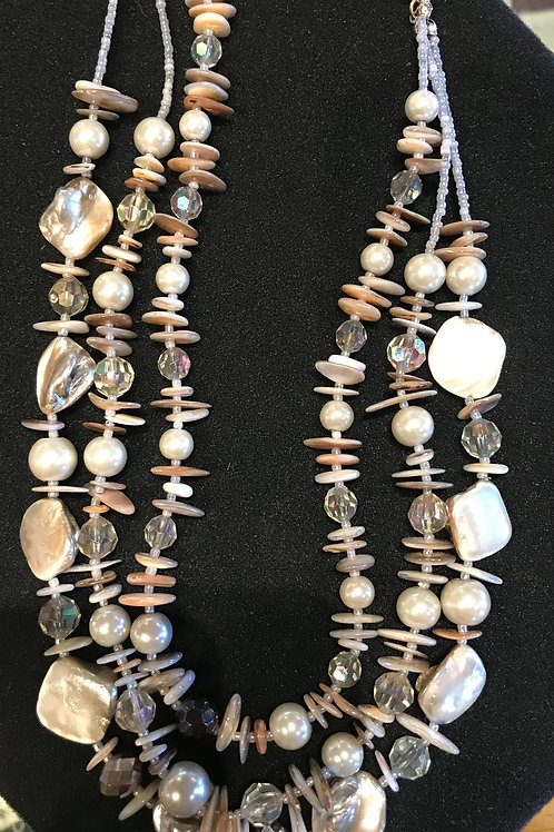 Pearl Treasure Necklace