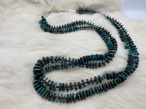 EM Teller Necklace  Turquoise, two-strand