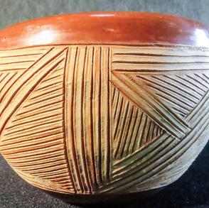 051 Santa Clara bowl, 3 x 4