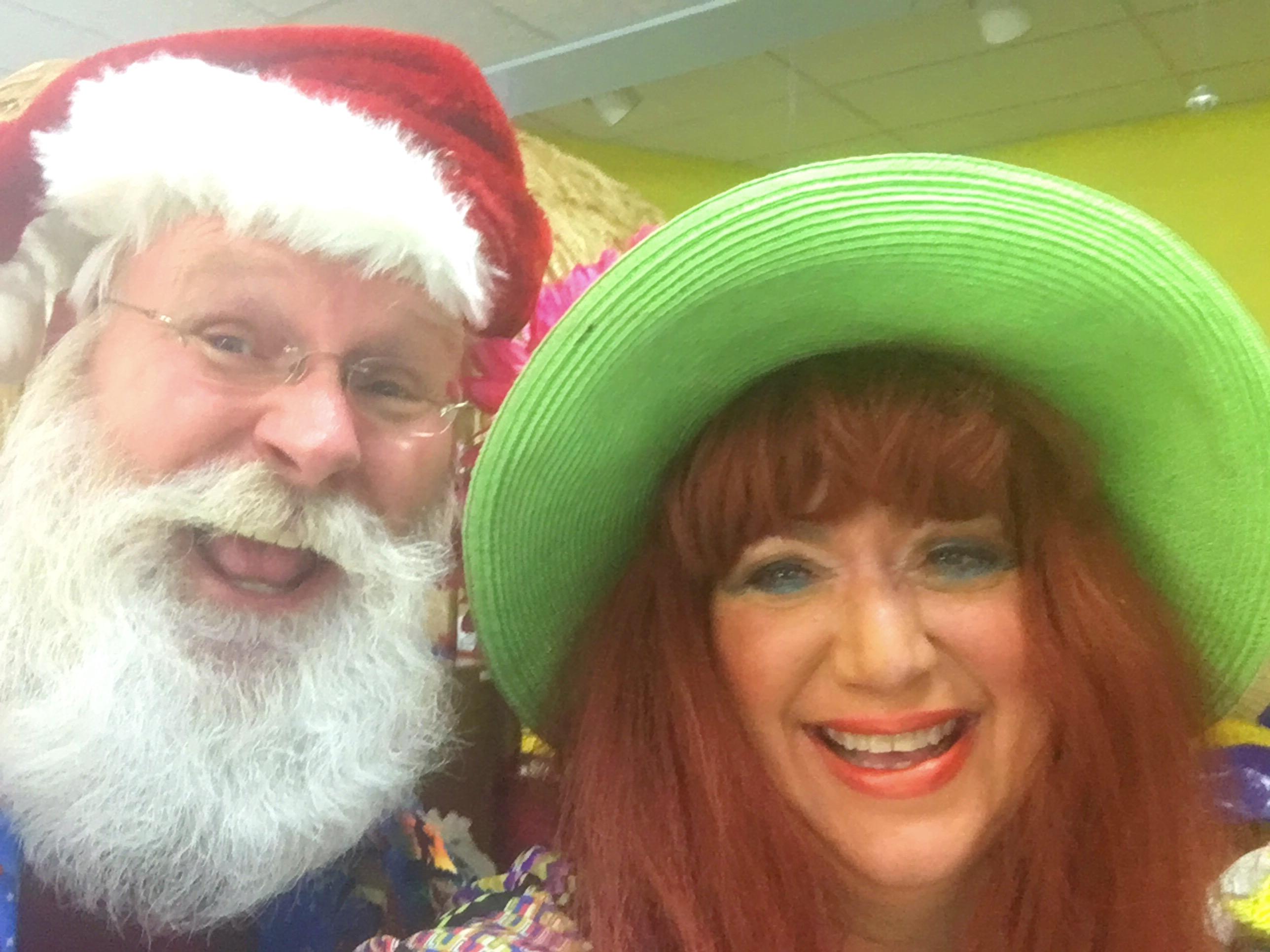 Santa and Aunt Junk!