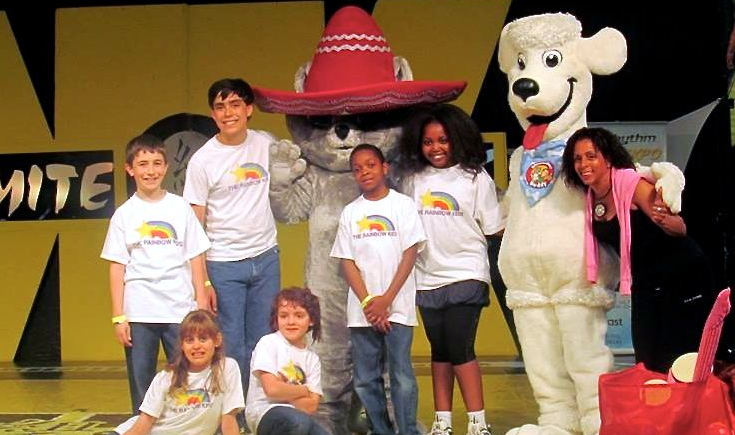 The Rainbow Kids® onstage