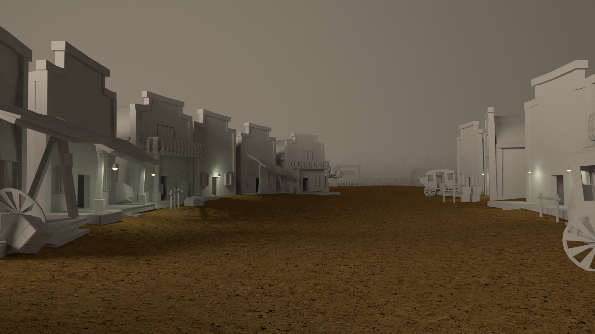 Old West Environment