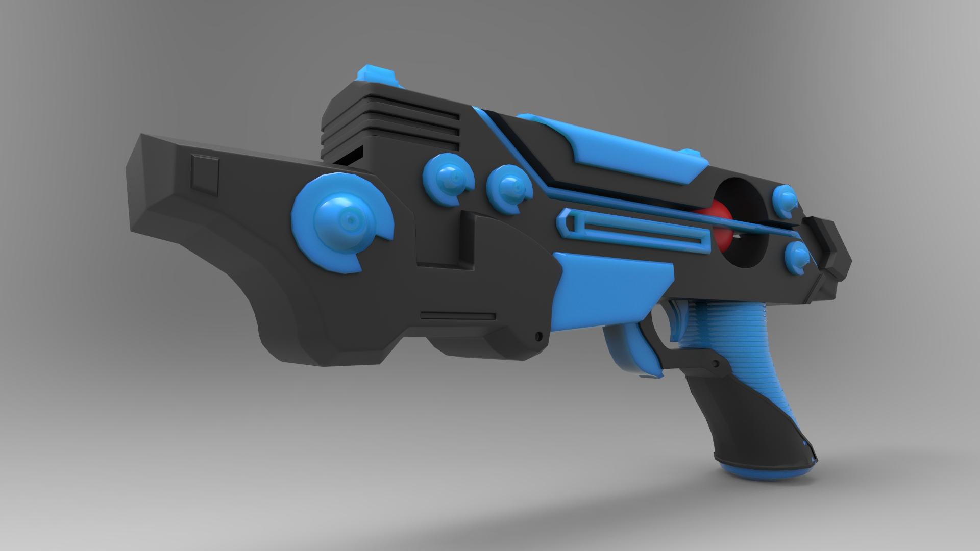 Toy Plasma Pistol Concept