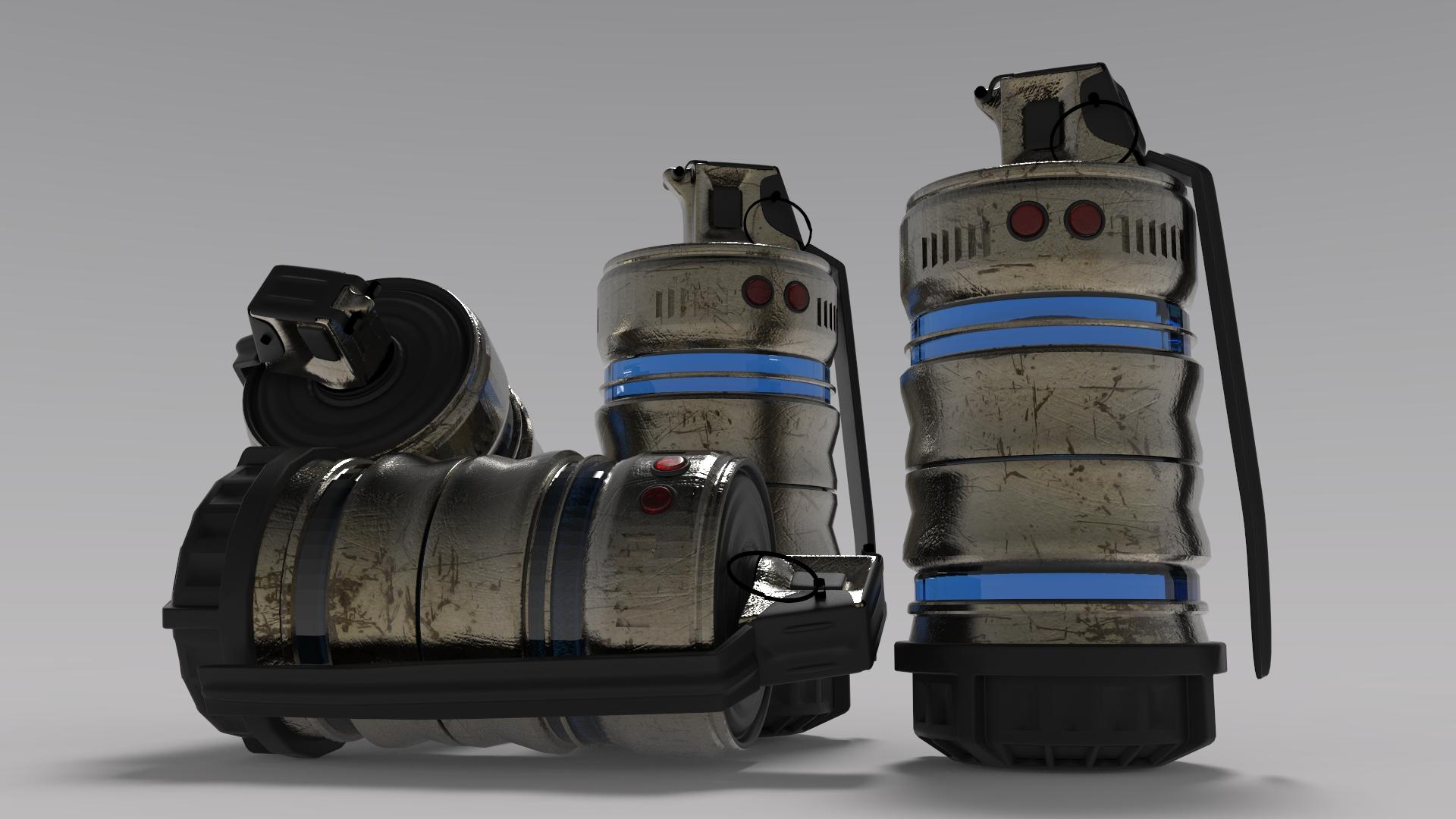 Flash Grenade Concpet