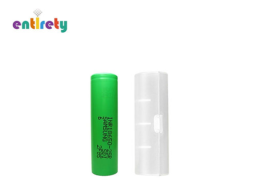 Authentic Samsung 18650 25RM Rechargeable Battery